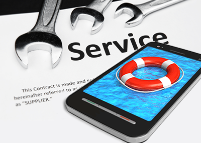 Simplify service contract management