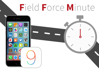 iOS 9 updates for field service users
