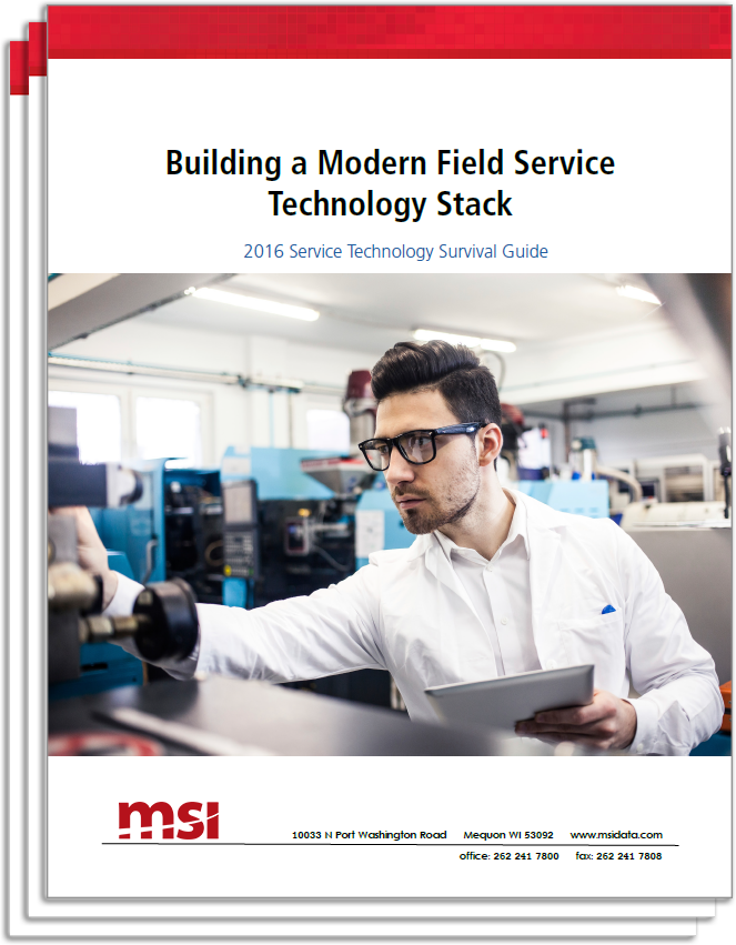 field service technology stack