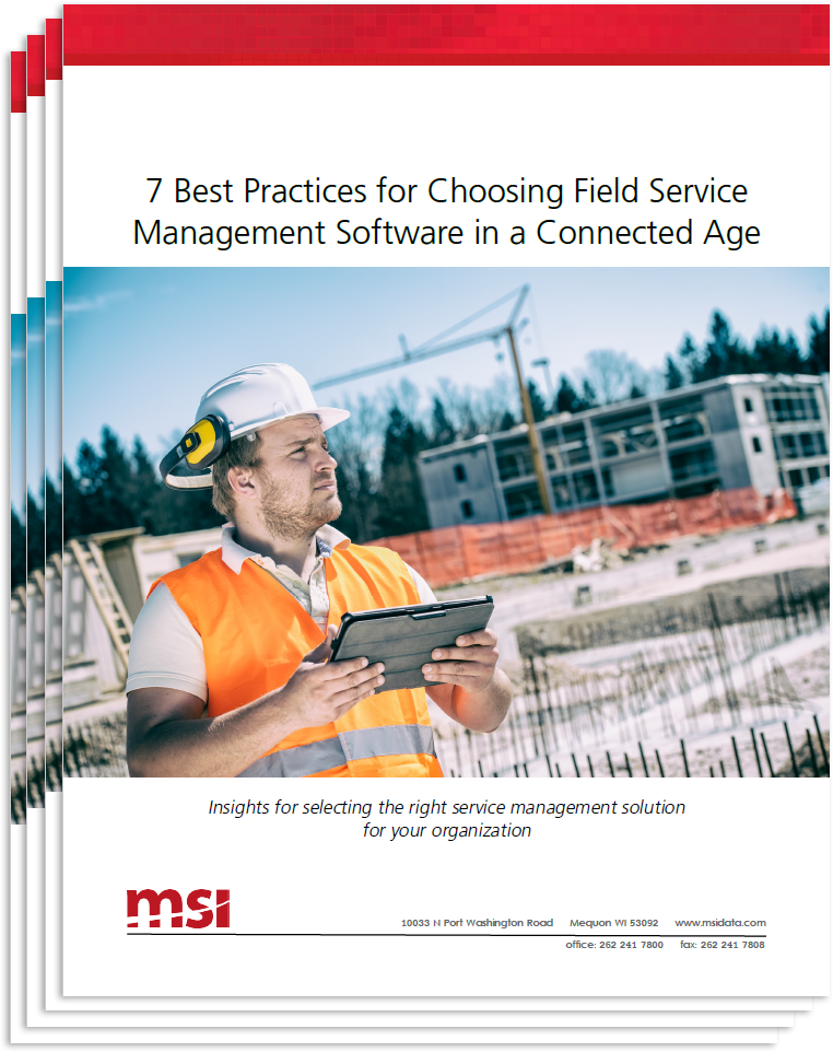 connected field service management