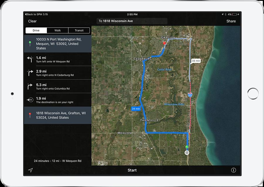 mobile field service scheduler