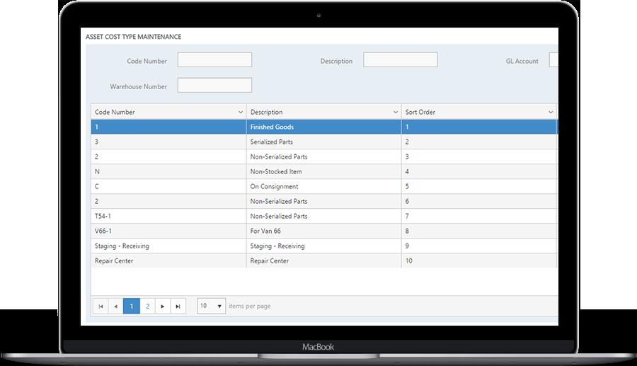 asset management office software