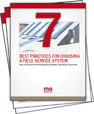 Free White Paper: 7 Best Practices for Choosing a Field Service Software System