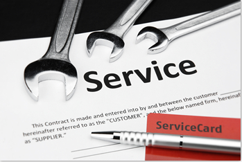 Service Contracts are as
