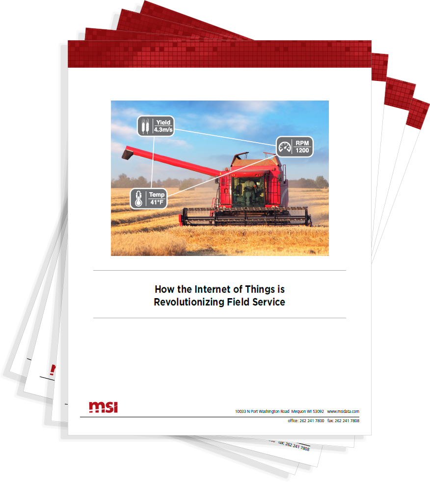 How the Internet of Things is Revolutionizing Field Service